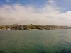 View of Newport and Laguna Beach from Balboa Pensinula