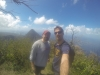 We made it. Gros Piton in the background.