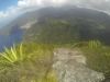 View of Soufriere Bay from the peak