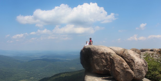 Peak of Old Rag Mountain
