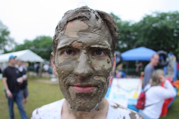 Chad Williams After Dominion Riverrock MGD 64 Filthy 5k Mud Run