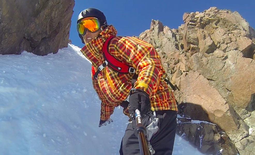 PowderQuest Ski Arpa Chute