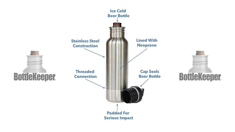 BottleKeeper® Colder Beer is Better. It's Science.™