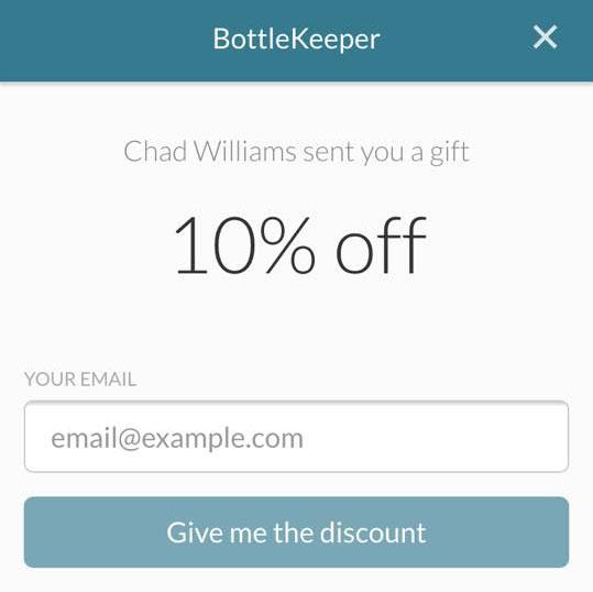 BottleKeeper® 10% Off Promo Code