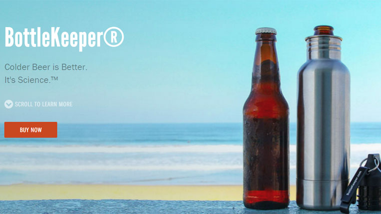 BottleKeeper® Colder Beer is Better. It's Science.™