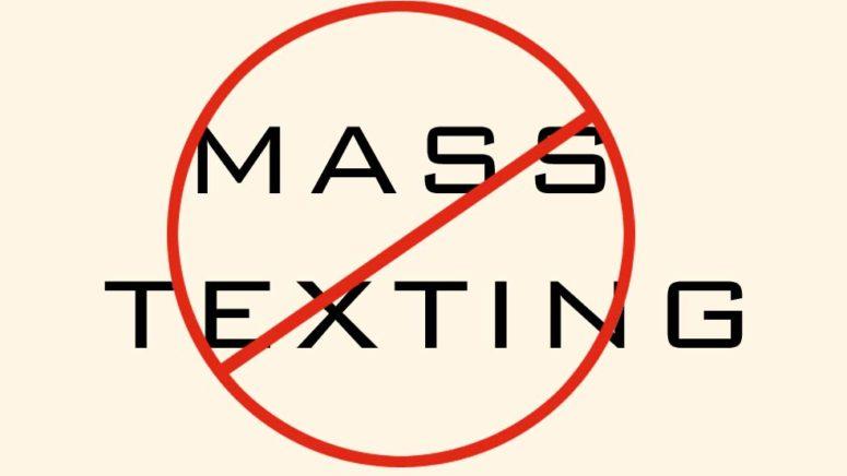 No Mass Textingt
