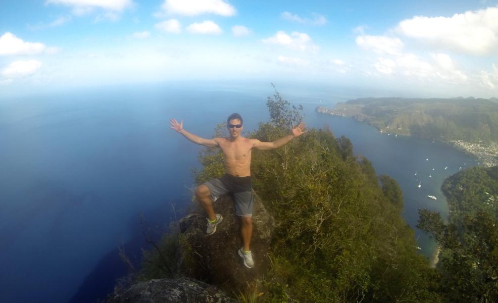 Hiking Petit Piton, St. Lucia