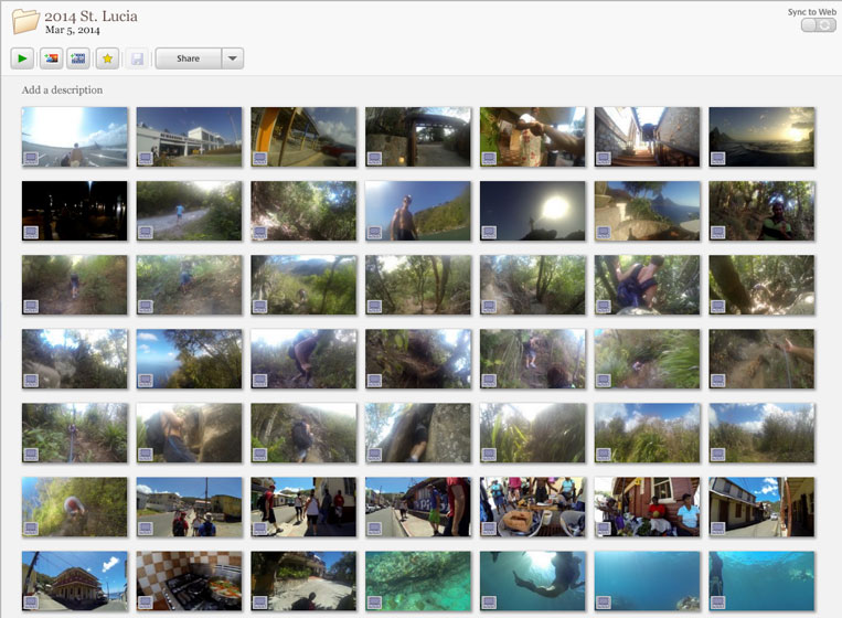 Picasa MP4s now Play and Show Thumbnails