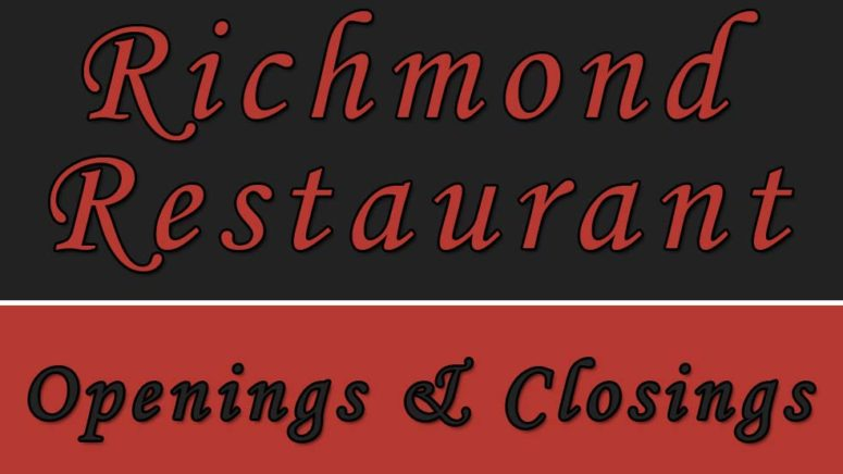 2018 Richmond Restaurant Openings and Closings