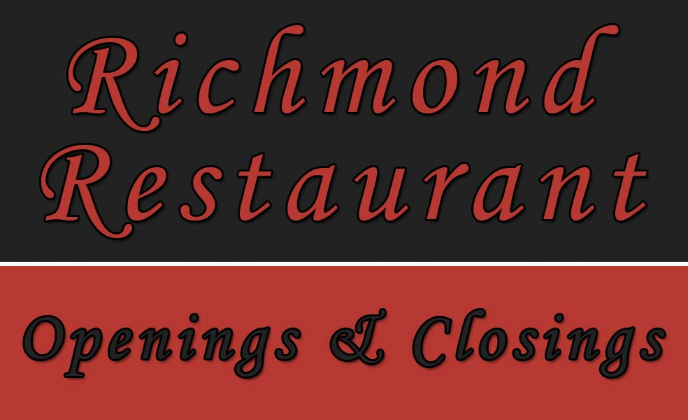 2012 Restaurant Openings Closings