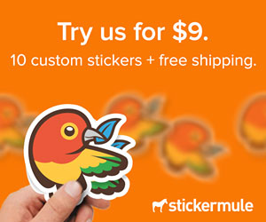 Sticker Mule - Custom Stickers With Free Shipping